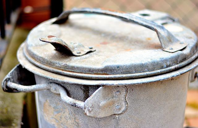 Dustbin, Garbage Can, Household Waste, Waste, Zinc