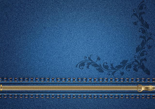 Background, Jeans, Zipper, Lock, Blue, Fabric, Pattern