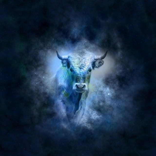 Horoscope, Astrology, Zodiac, Bull, Icon Images