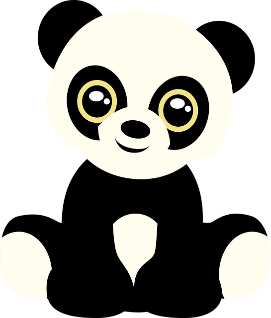 Panda, Bear, Teddy Bear, Animal, Cute, Plush, Cub, Zoo