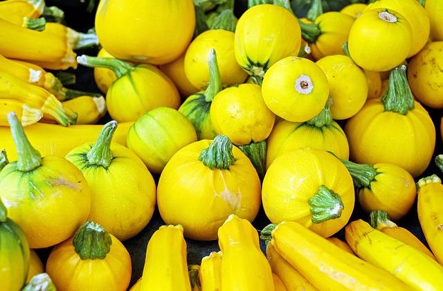 Zucchini, Vegetables, Yellow, Vegetarian, Healthy