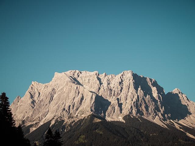 Germany, Zugspitze, Mountain, Landscape, Europe, Travel