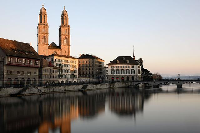 Grossmünster, Church Tower, Church, Tower, Zurich