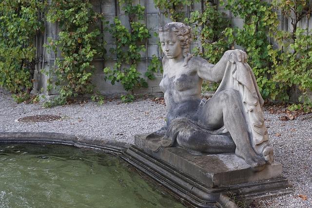 Fountain, Water, Sculpture, Zurich
