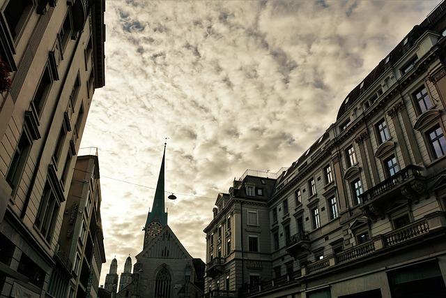 Zurich, Old Town, Switzerland, Parade Ground