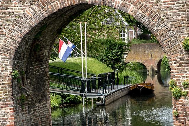 City, Zutphen, Netherlands, History, Canal