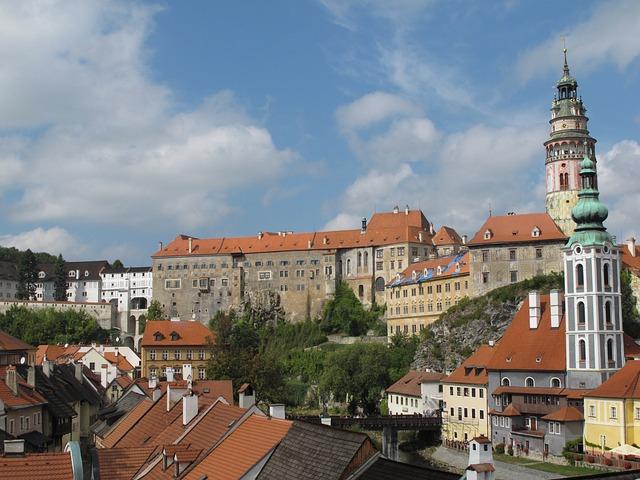 Castle Cesky, Krumlov, český Krumlov, Cesky Krumlov