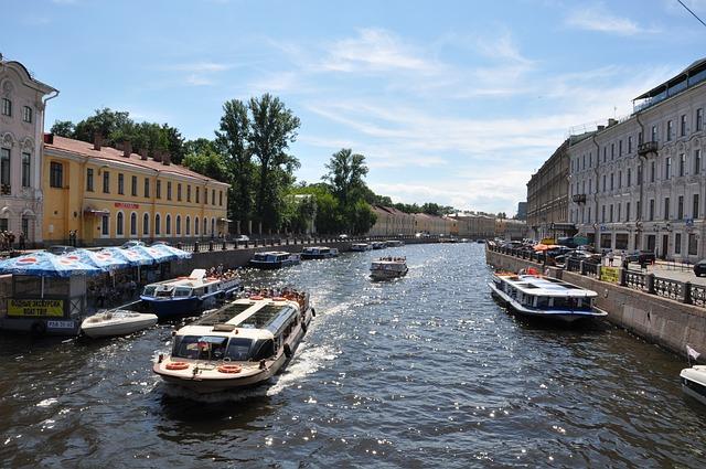 канал, санкт-петербург, россия