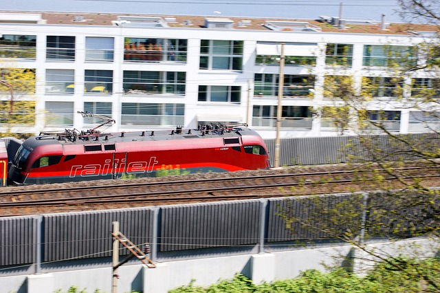 Loco, Train, Railroad Track, öbb, Home, Red